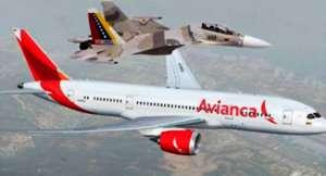 Força Aérea venezuelana força a mudança de rota da aeronave da Avianca